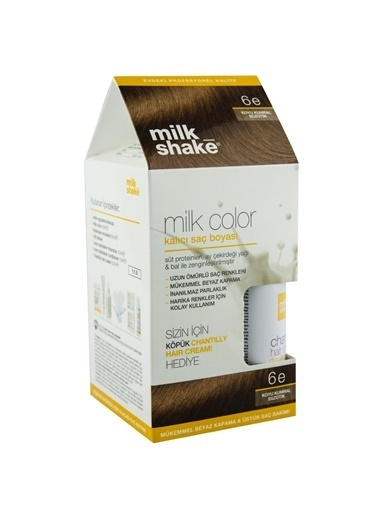 Milkshake Saç Boyasi Koyu Kumral Kahve